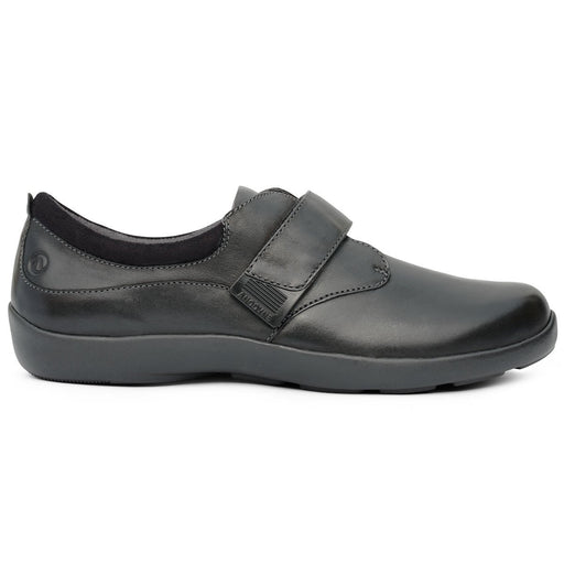 Anodyne No.67 Therapeutic Diabetic Casual Comfort Shoe, Black | dahlmedicalsupply.com