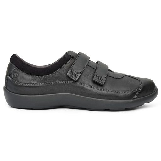 Anodyne No.81 Women's Therapeutic Diabetic Casual Double Depth Shoe, Black | dahlmedicalsupply.com