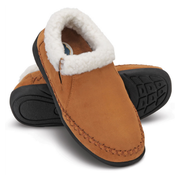 Dr.Comfort Women's Diabetic Slipper Indoor/Outdoor - Camel
