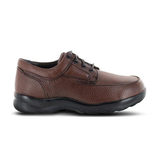 Apex Men's Diabetic Ariya Moc Toe, Brown - Main Image | Dahl Medical Supply