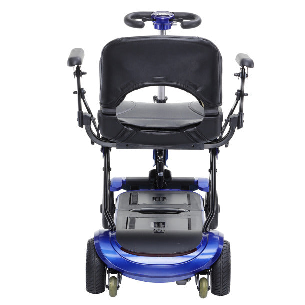 Drive Medical - ZooMe Flex Folding Travel Scooter Back View