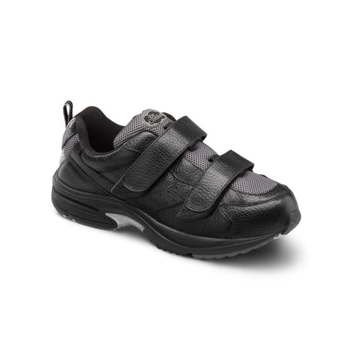 Dr. Comfort Men's Winner-X Therapeutic Double Depth Diabetic Walking Shoe, Black Main Image