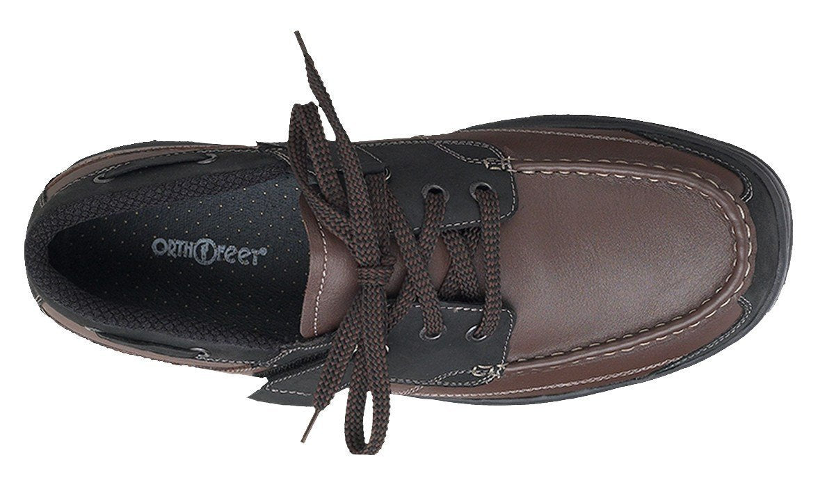 Baton Rouge - Brown, Tie-Less Boat Shoe