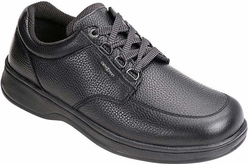 Orthofeet Men's Avery Island, Black Casual Diabetic Footwear
