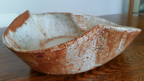 Tin White Bowl