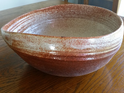 Altered Stoneware Large Bowl