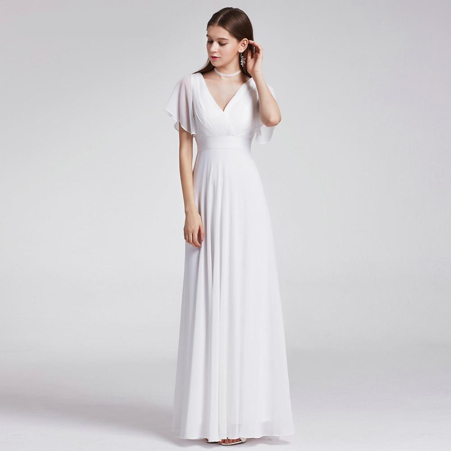 How to Look Stylish and Beautiful in Casual Wedding Dresses ...