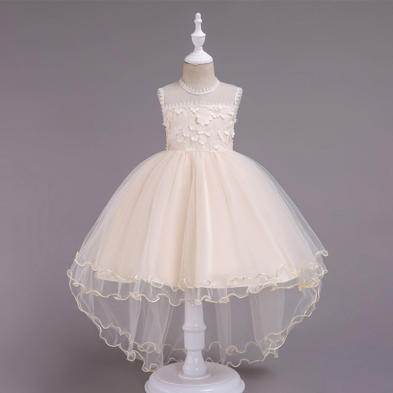 High-low flower girl dress