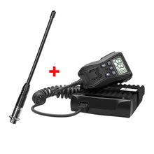 Load image into Gallery viewer, Crystal Mobile 5W Hideaway In-Car UHF Radio with Uniden Antenna