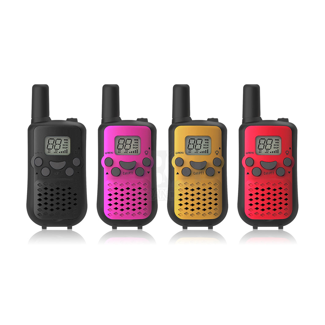Crystal Mobile 0.5W Handheld UHF Radio 4-Pack