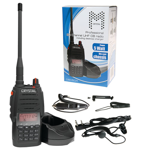 Crystal Mobile 5w Handheld UHF Radio