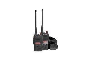 Crystal Mobile 5w Handheld UHF Radio Twin Pack