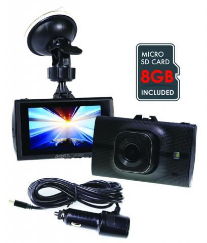GHDVR296  1080P HD DASH CAM - 8GB