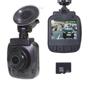 GHDVR370  1080P FULL HD DASH CAM GPS - 8GB