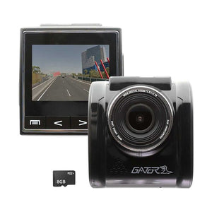 Gator Full HD Dash Camera with GPS and 8GB Micro SD Card