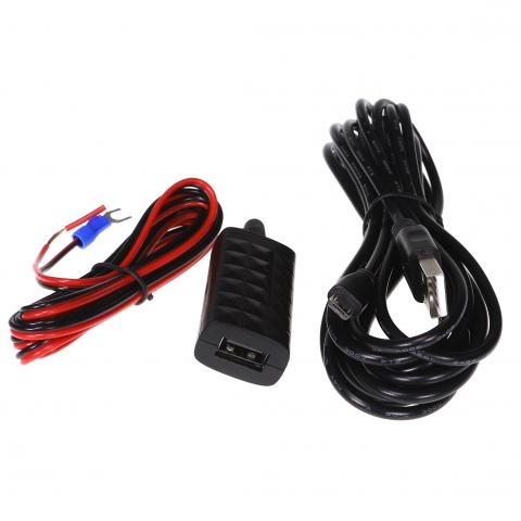 GHWCUSB  MICRO USB HARD WIRED CABLE TO SUIT GHDVR72W AND GHDVR82W