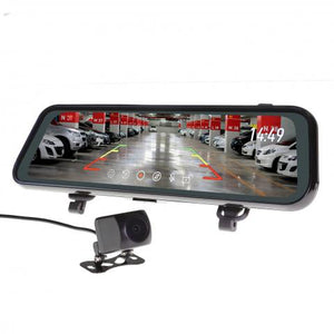 "GRV90MKT 9"" SUPER WIDE MIRROR MONITOR WITH REVERSE & LIVE STREAM CAMERA"