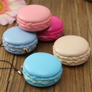 10Pcs/Lot Soft Squishy -Slow Rising Macaron -scented- Free shipping