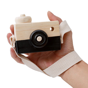 Cute wood camera gift - Free shipping
