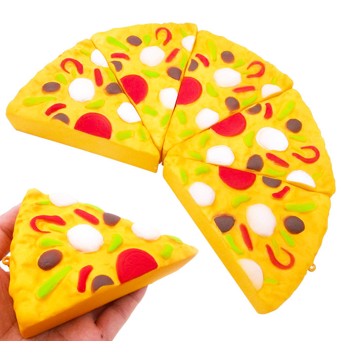 1 Piece of Yummy Squishy Pizza - Free shipping - pic01
