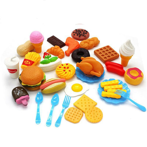 34pcs Funny Kitchen Pretend Play Toys - Free shipping