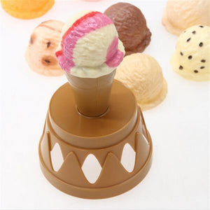 Play game Ice Cream Stack Up -Pretend Play Toys - Educational Toys- free shipping