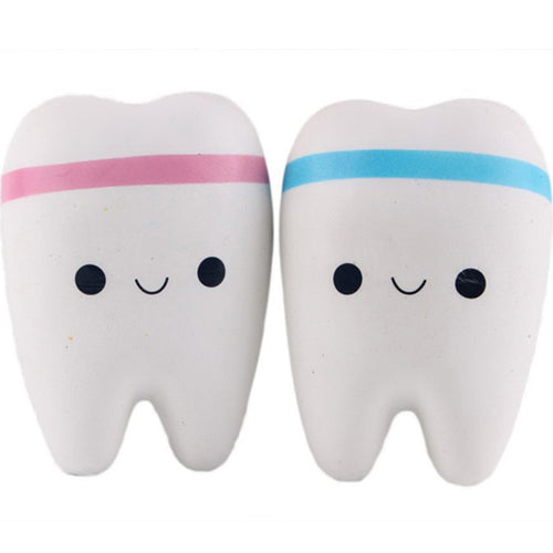 Squishy tooth - Free shipping