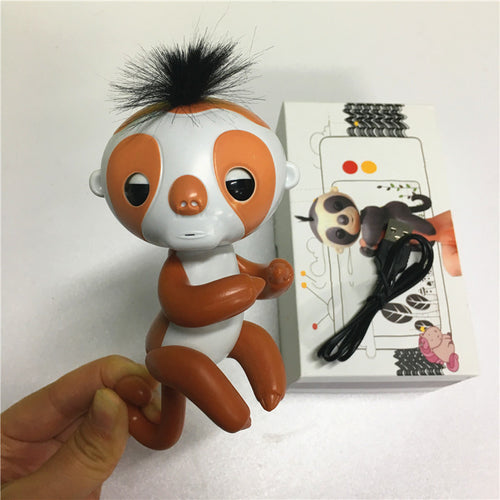 Record your voice- Cute Colourful Finger Sloth - Free shipping