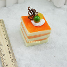 Squishy cake with decoration - Free shipping