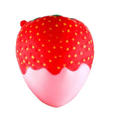 Jumbo Soft Squishy Strawberry Candy -Scented -Slow Rising -Free shipping