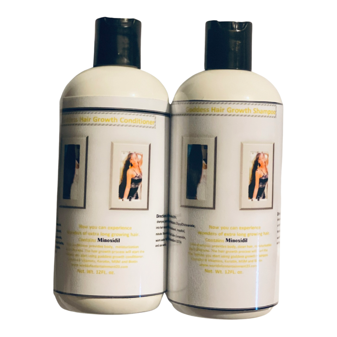 Goddess Hair Growth Shampoo and Conditioner