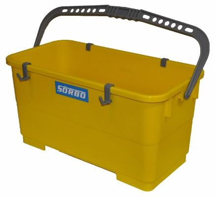 "SORBO 18"" UTILITY BUCKET WITH CLIPS"