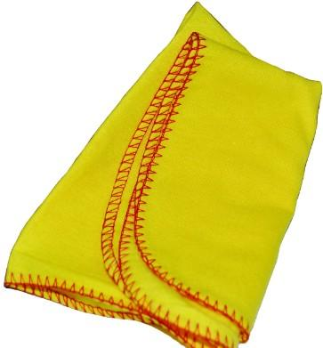 UNWRAPPED YELLOW POLISHING CLOTH