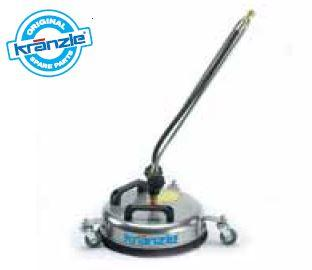 Stainless Steel Round Floor Cleaner - 300mm