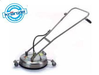 Stainless Steel Round Floor Cleaner - 420mm