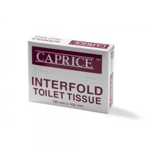 Caprice Interfold Toilet Tissue