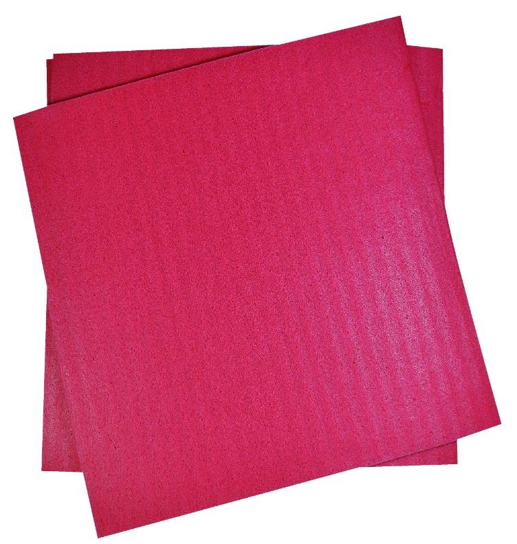 EDCO SPONGE CLOTH SQUARES SMALL – RED