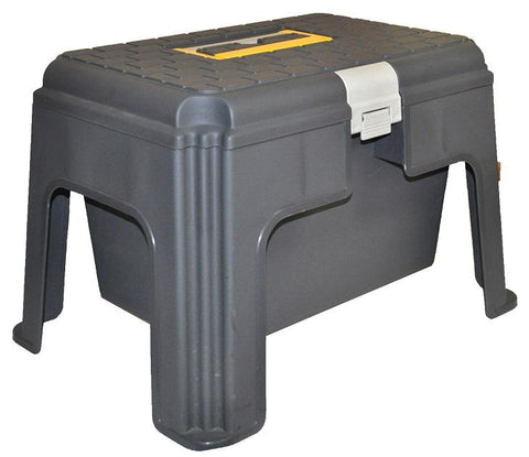 EDCO STEP STOOL WITH STORAGE COMPARTMENT