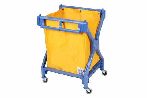 EDCO DELUXE PLASTIC SCISSOR TROLLEY COMPLETE WITH BAG