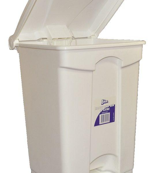 EDCO HANDY STEP BIN WITH PEDAL (ASSEMBLED)