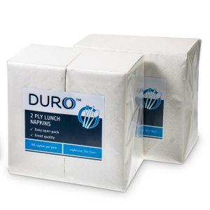 Duro Lunch Napkin 2 ply 300mm x 300mm