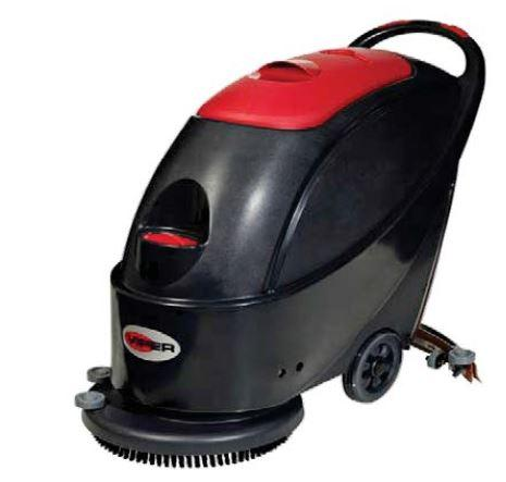 Battery operated scrubber
