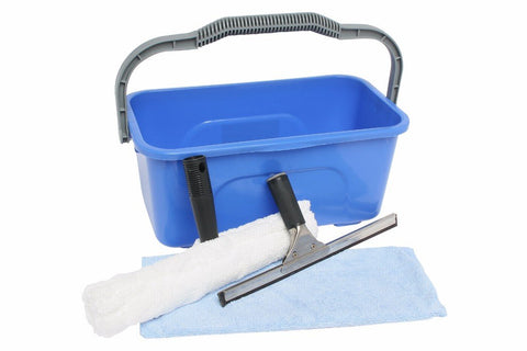 EDCO ECONOMY WINDOW CLEANING KIT WITH 11L BUCKET