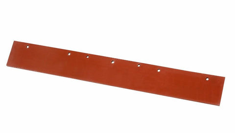 EDCO RED RUBBER FLOOR SQUEEGEE REFILL