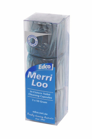 EDCO MERRI LOO IN-CISTERN CLEANER 3PK