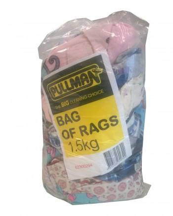1.5KG PULLMAN BAG OF RAGS