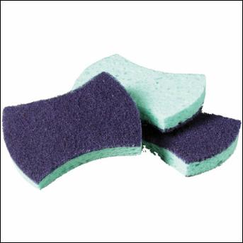 Scotch-Brite 3000 Blue Power Sponge Scourer