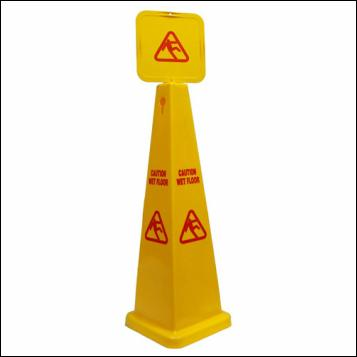 Caution Cone - Wet Floor