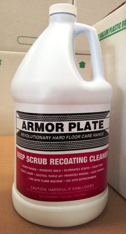 Armor Plate Deep Scrub Recoating Cleaner