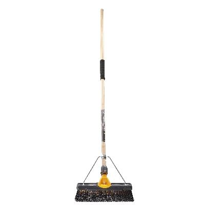 TITANIUM 350mm M/STF BROOM(4)